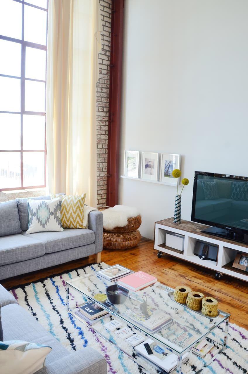 A bright diy art inspired loft in oakland living rooms - Oakland community college interior design ...