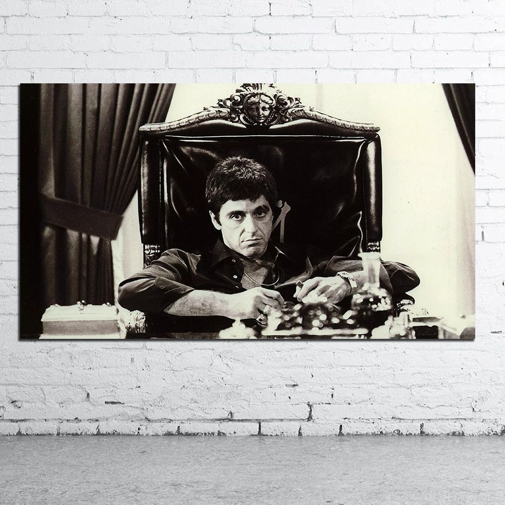 "Godfather Al Pacino   PICTURE CANVAS WALL ART /""20X30/"""