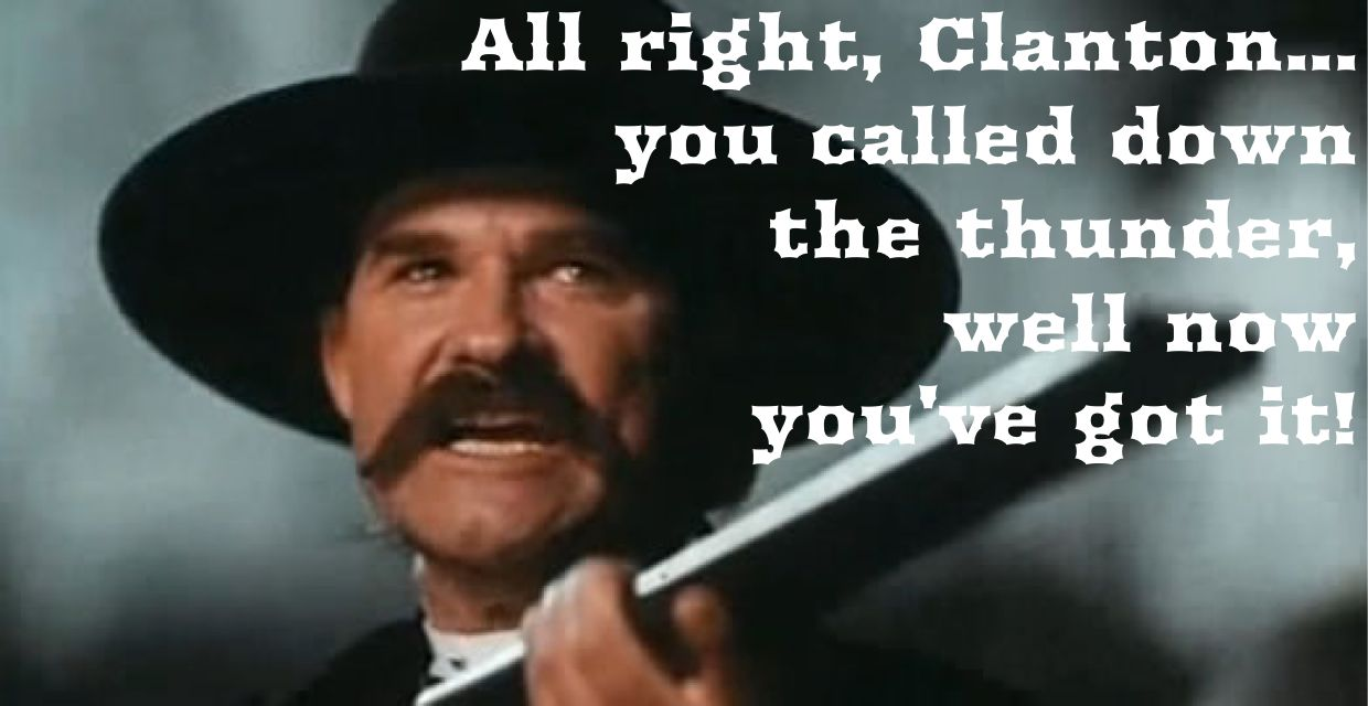 tombstone movie quotes poster