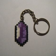 Porte clés rubis zelda - bead sprite