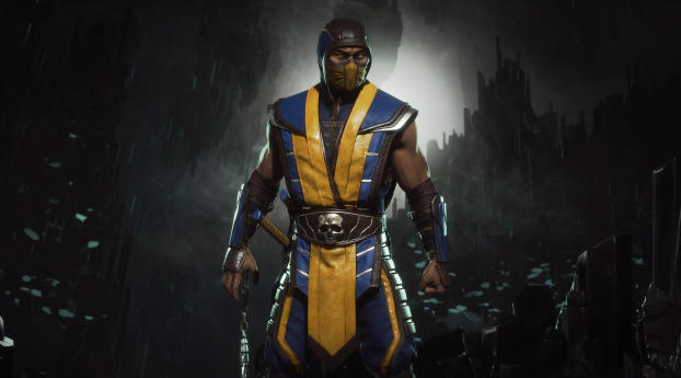 Mortal Kombat 11 Scorpion 4k Image Hd Games 4k Wallpapers Images Photos And Background Mortal Kombat Wallpaper Iphone