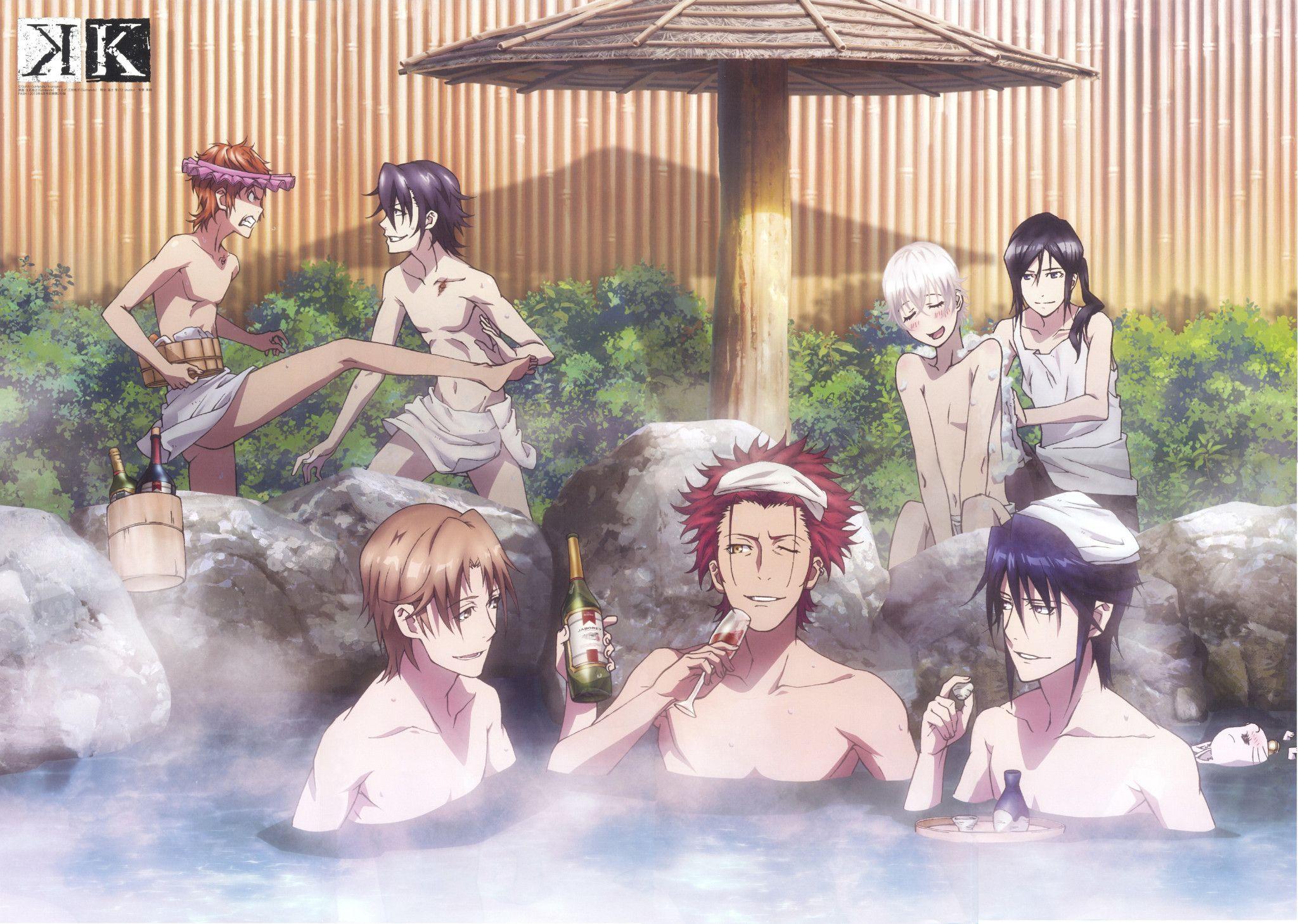Misaki, Saruhiko, Izumo, Mikoto, Reishi, Shiro and Kuroh