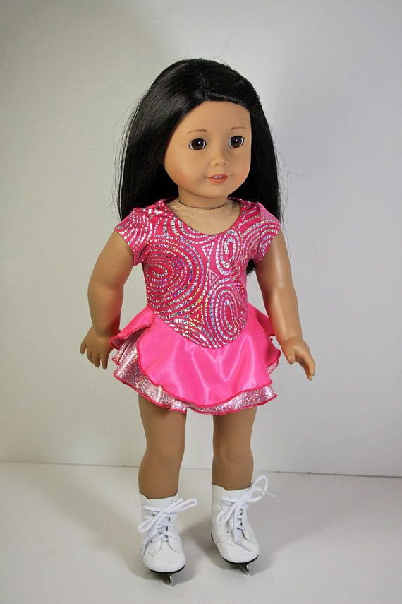 American Girl Doll Clothes - Ice Skating Dress, Sports, 18 inch doll ...