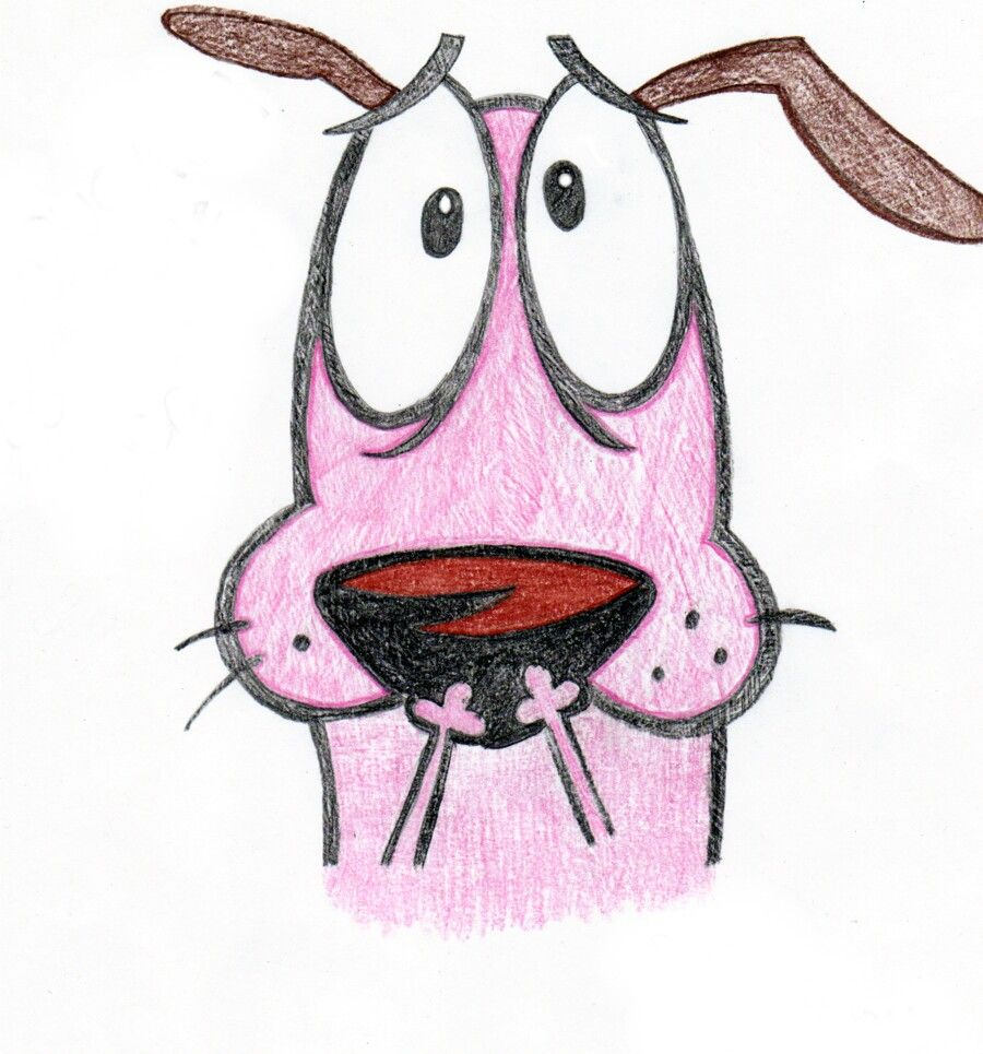 Courage The Cowardly Dog. #Tv #Show #Cartoon #Characters