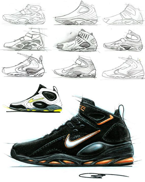 Tonyhardmansketch Design Sketches Sneakers Sketch