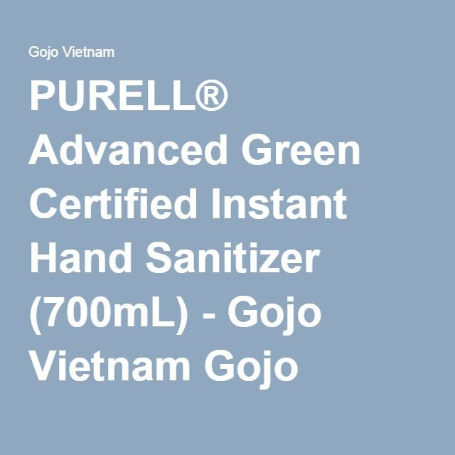 Purell Advanced Green Certified Instant Hand Sanitizer 700ml