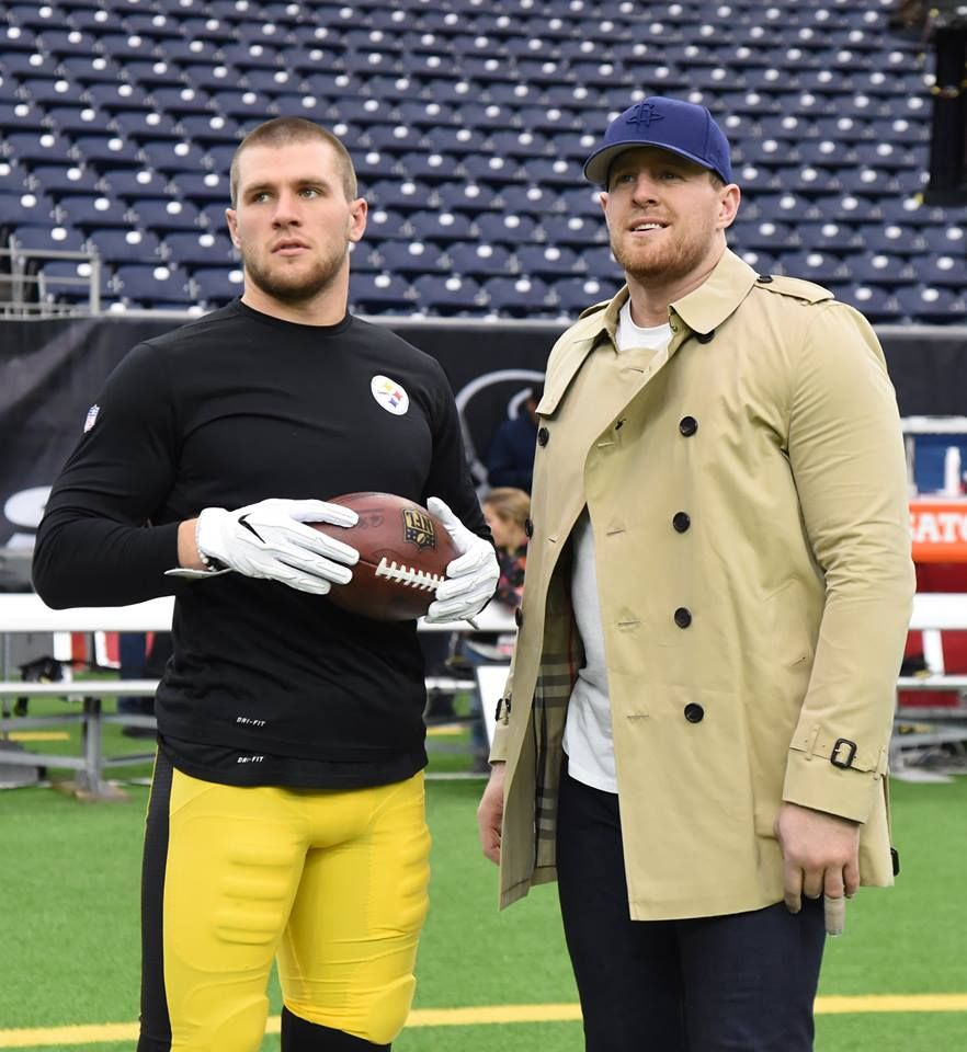 12 25 2017 T.J. Watt and big brother J.J. Watt.  1e038021b