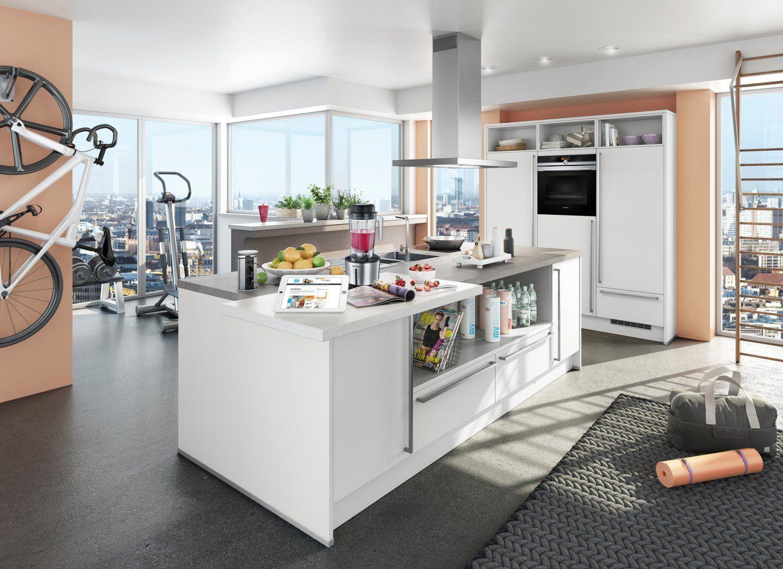 Fit Und Gesund Mit Der Fit For Fun Küche Küche Co Küchen Möbel Inselküche Küchenmöbel