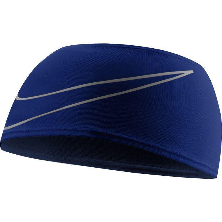 Nwt unisex nike drifit swoosh running headband royal blue