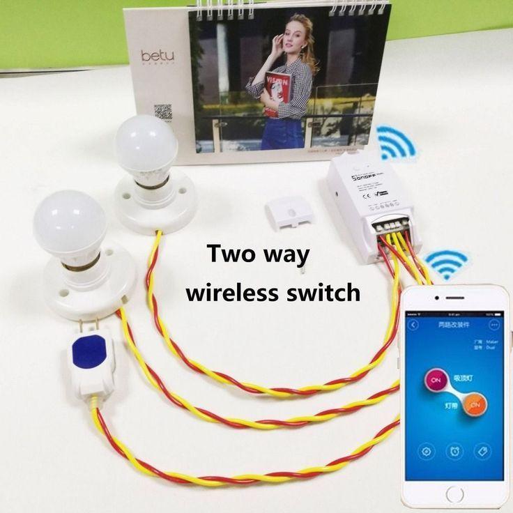 Buy Itead Sonoff Dual Channels Wifi Smart power switch Wireless ...