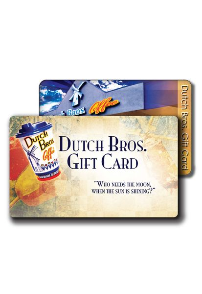 Dutch Bros Gift Cards Dutch Bros Coffee Dutchwear Dutch Bros Gifts Gifts For Brother