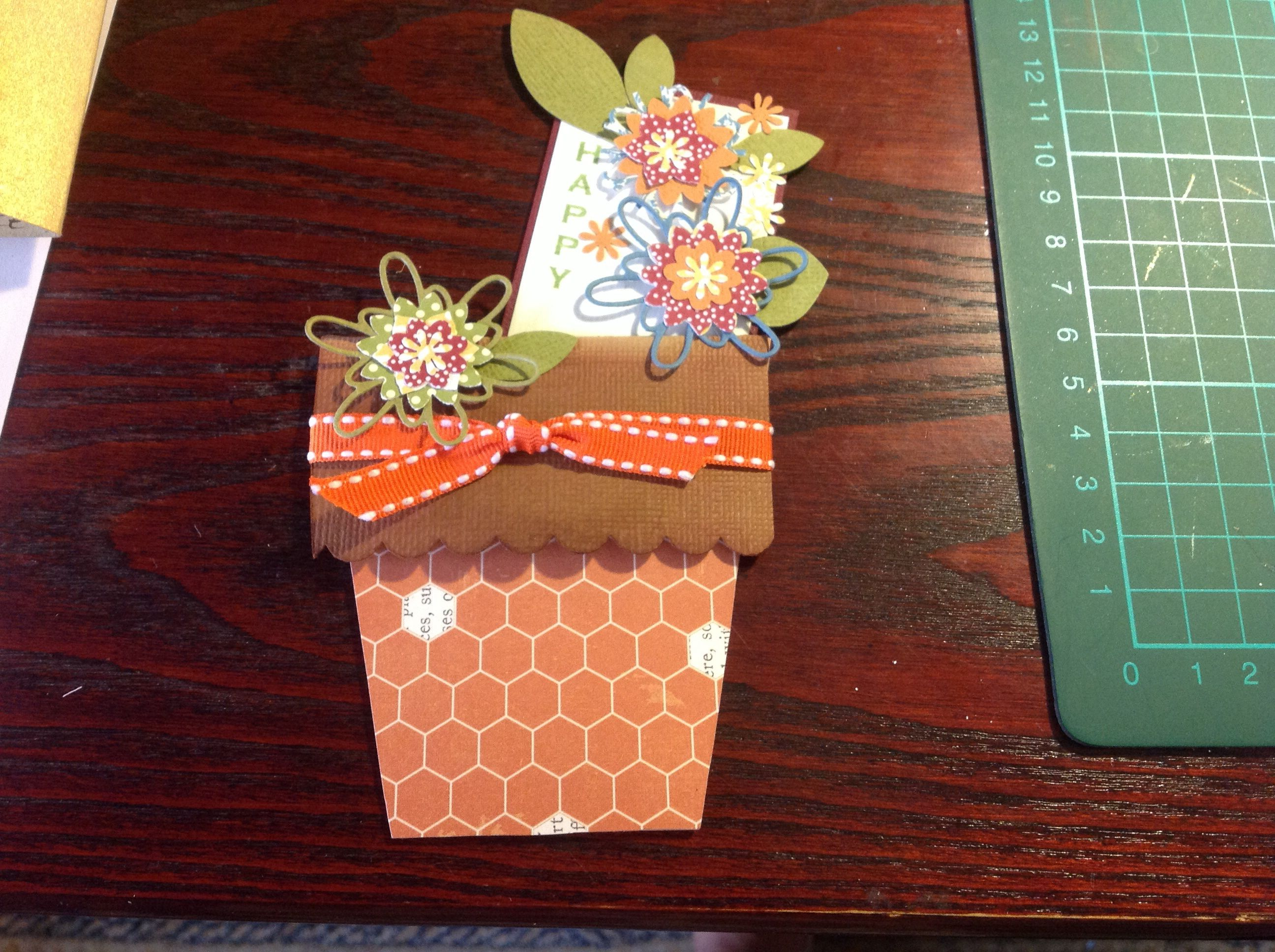 Another flowerpot card
