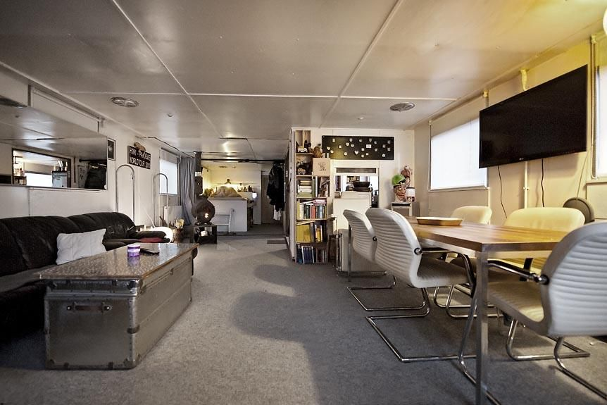 Hausboot Wohnboot Eventboot Agentur Büro 120 m2 + Dachterrasse