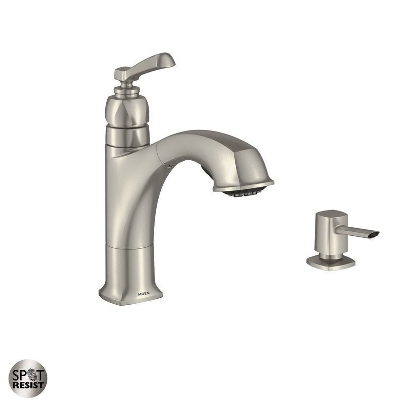 Best Of Kitchen Faucets with soap Dispenser and Sprayer