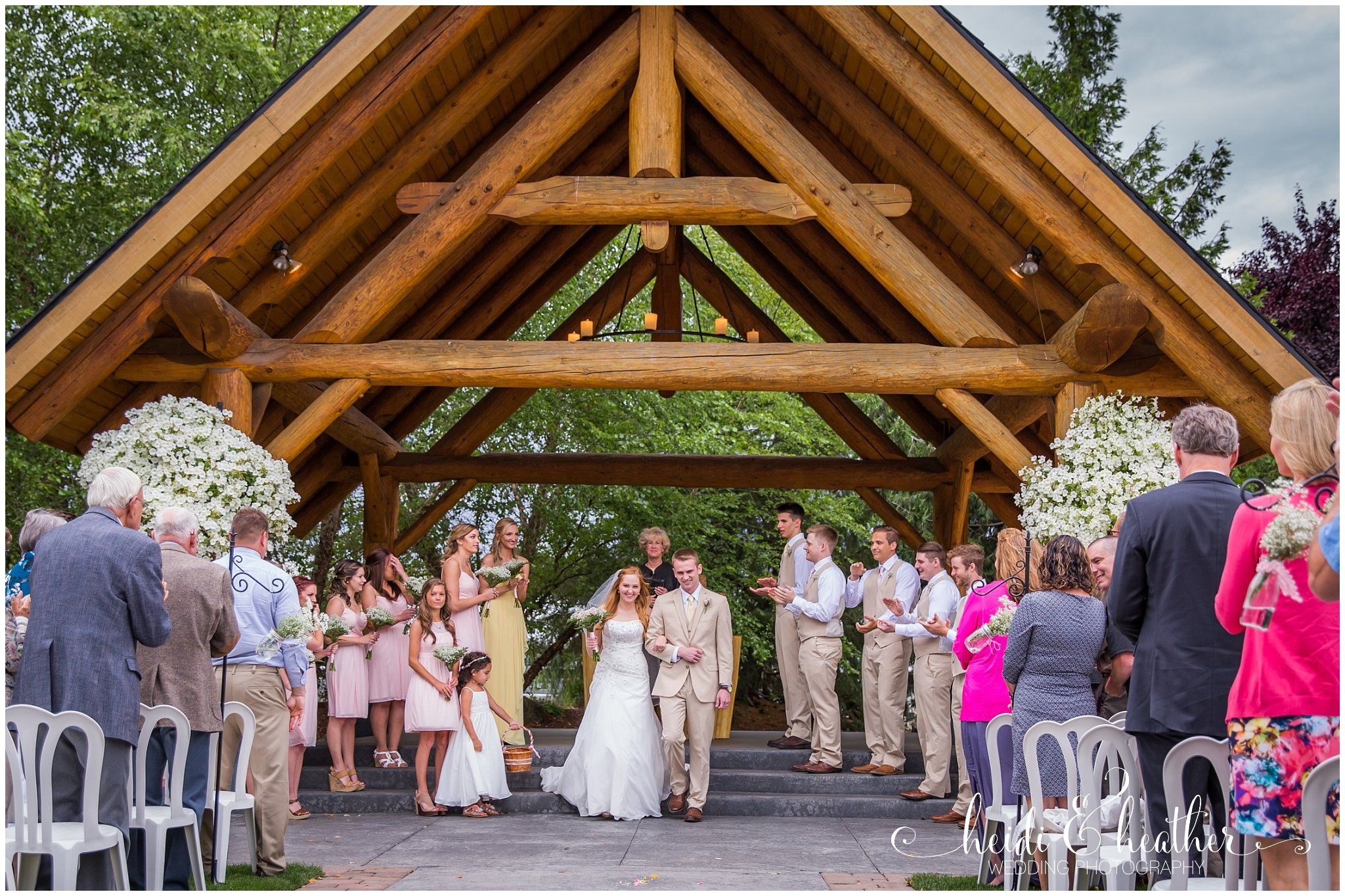 Log House Gardens At Willow Lake Keizer Oregon Heidi And Heather Wedding Photography