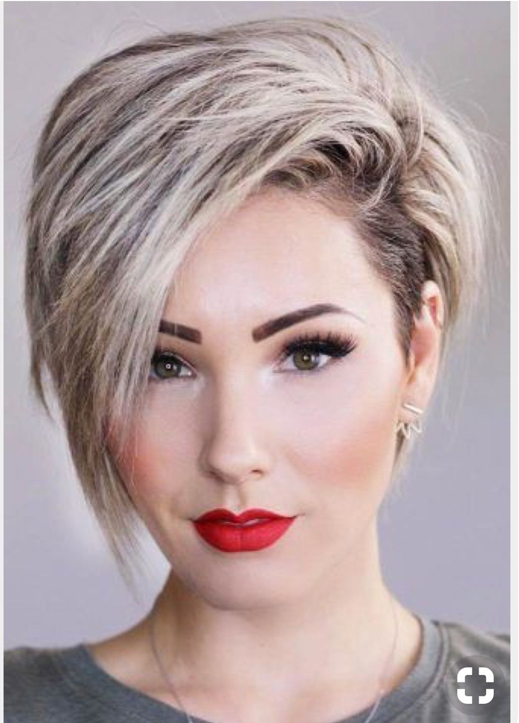 pin by amber burnett on hair | short hairstyles for thick