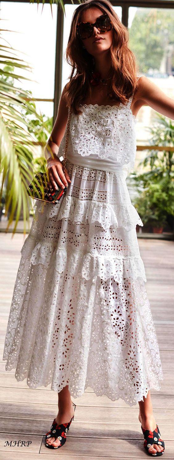 Summer House Cotton Dress Lovely Trendy Dresses Summer Fashion Summer Dresses [ 1485 x 564 Pixel ]