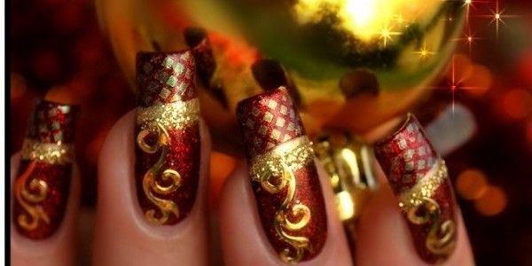 Latest Indian Bridal Nail Art Designs For Wedding 5 Beautytipsmart