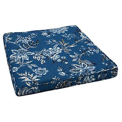 deep seat box dining swivel chair cushion outdoor cushions rh pinterest com