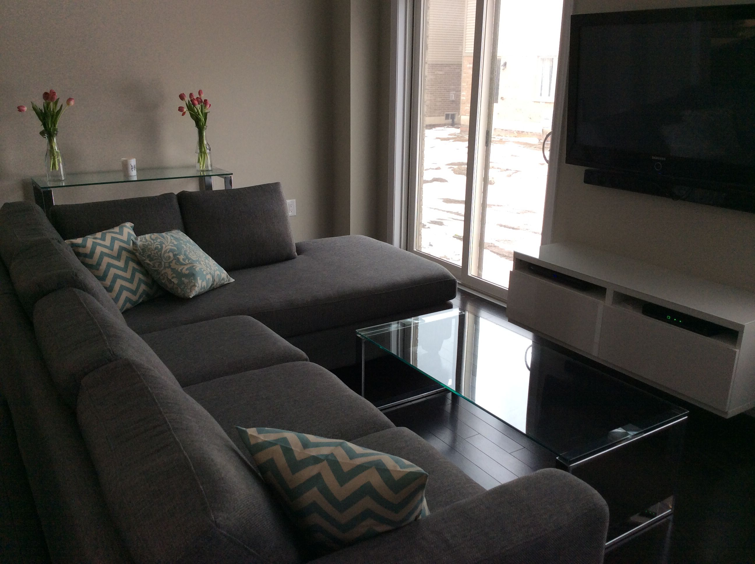 Durango sofa and Katrine coffee table urban barn living room