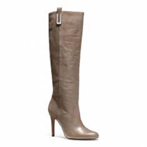 New Coach Womens Udell Taupe Suede Leather Tall Knee High Riding Dress Boots 10 Kneehighboots Casual