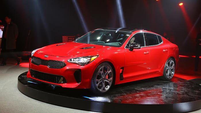 The New Kia Stinger Gt Kia Stinger Kia Future Car