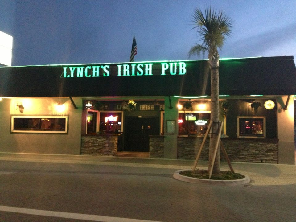 Lynch S Irish Pub In Jacksonville Beach Fl Fun Atmosphere Live Music Trivia Nights And Great People Watching From The Outside Patio