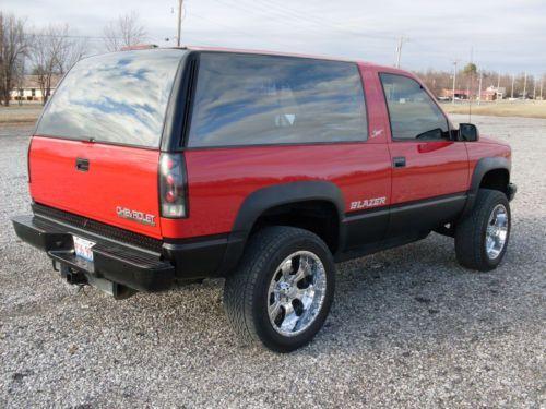 1994 Chevy Blazer Sport Fullsize 2 Door 4x4 Tahoe Yukon Us 3 250 00 Image 4 Sports Blazer Chevy Tahoe