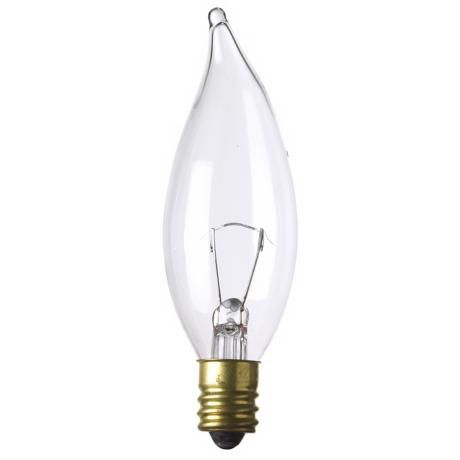 Bent Tip 15 Watt 12 Volt Candelabra Light Bulb 37712 Lamps Plus Candelabra Light Light Bulb Candelabra Bulbs