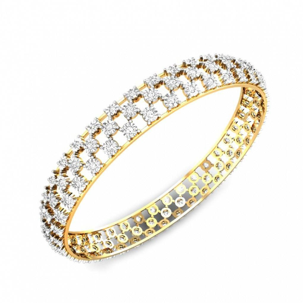 Diamond mesh miracle plate bangle jewellery shopping online india