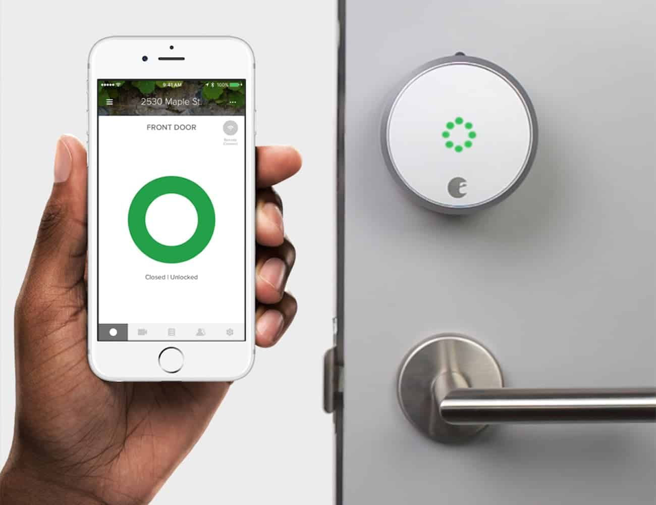 5 Reasons Why You Need To Replace Your Old Door Lock With A Smart Door Lock Modern Home Smart Door Locks Smart Lock August Smart Lock