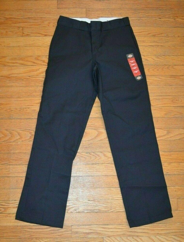 Dickies mens 874 original fit black classic work pants 32