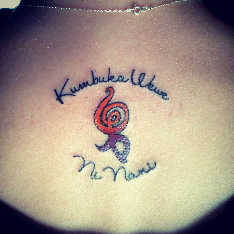 Kumbuka wewe ni nani remember who you are hakuna matata for Remember who you are tattoo