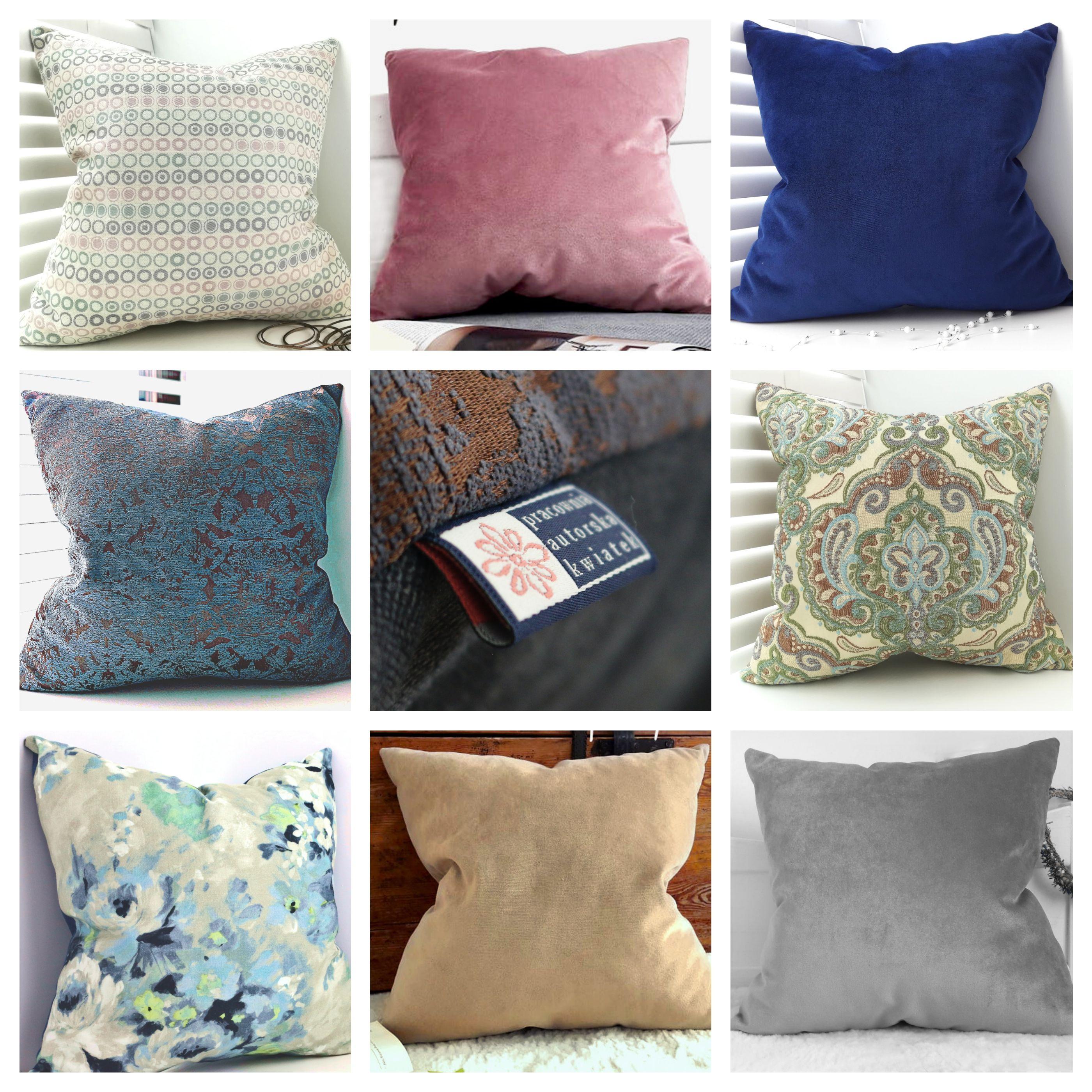 Poduszki Dekoracyjne Z Wyszukanych Tkanin Wszystkie