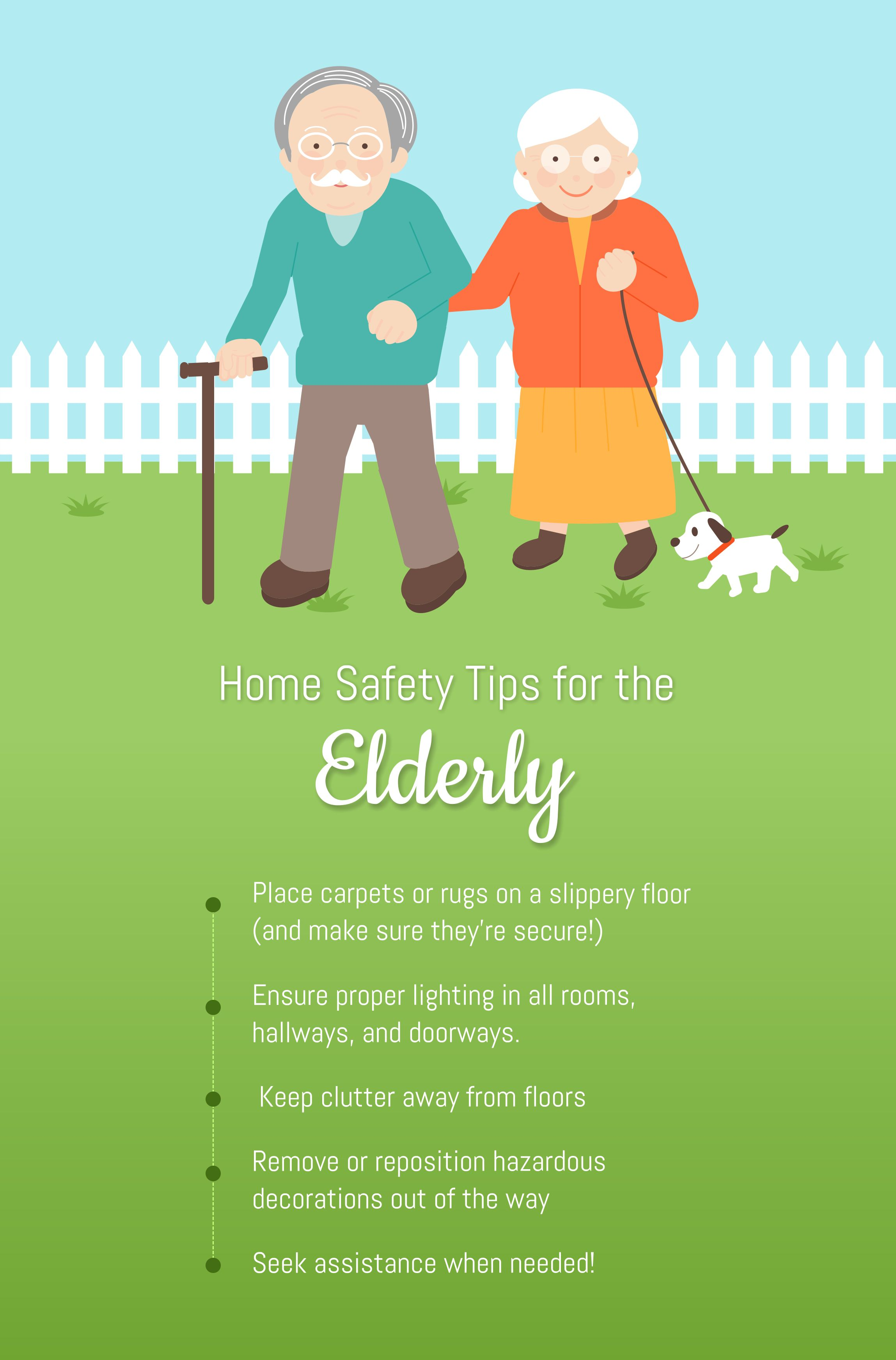 Home Safety Tips for the Elderly Angel Caregivers, Inc