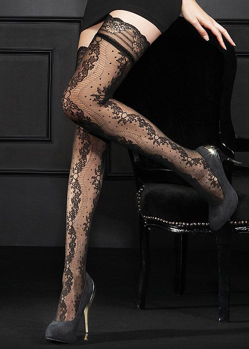 9850d19447752 Oroblu Extase Hold Ups | Legwear obsession | Tights, Hold ups, Stockings