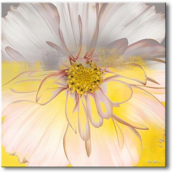 Ready2HangArt \'Painted Petals\' Canvas Art ($108) ❤ liked on ...