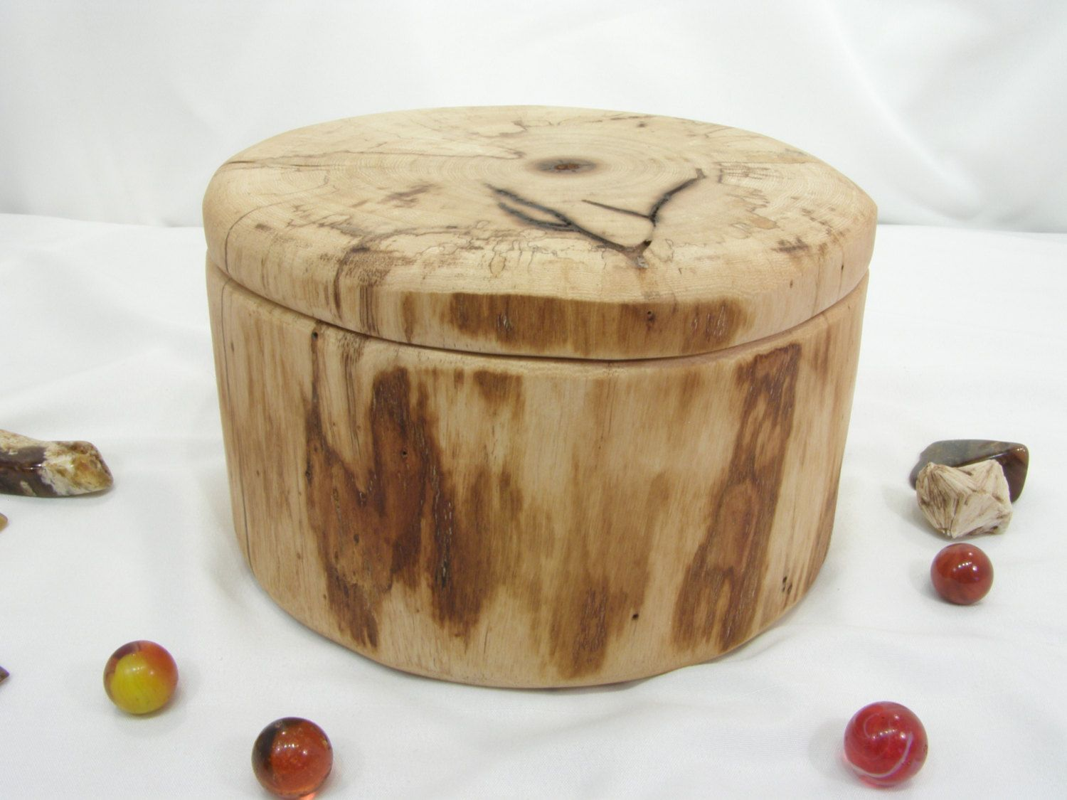 Oregon Ash Driftwood Wooden Box Cremation Urn Pet Valet 5th Anniversary Wedding Gift Jewelry Groom