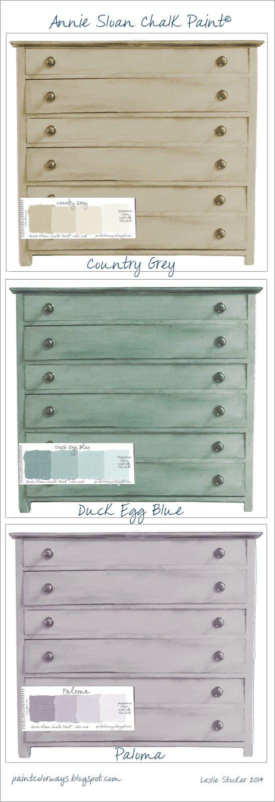Color Choices Colorways Chalk Paint Annie Sloan Chalk