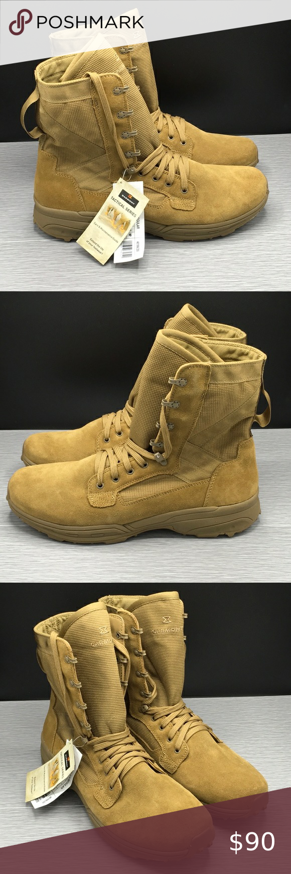 Garmont T8 Nfs 670 Regular Coyote Boot Sz 15 In 2020 With Images Boots Shoe Boots Tan Brown