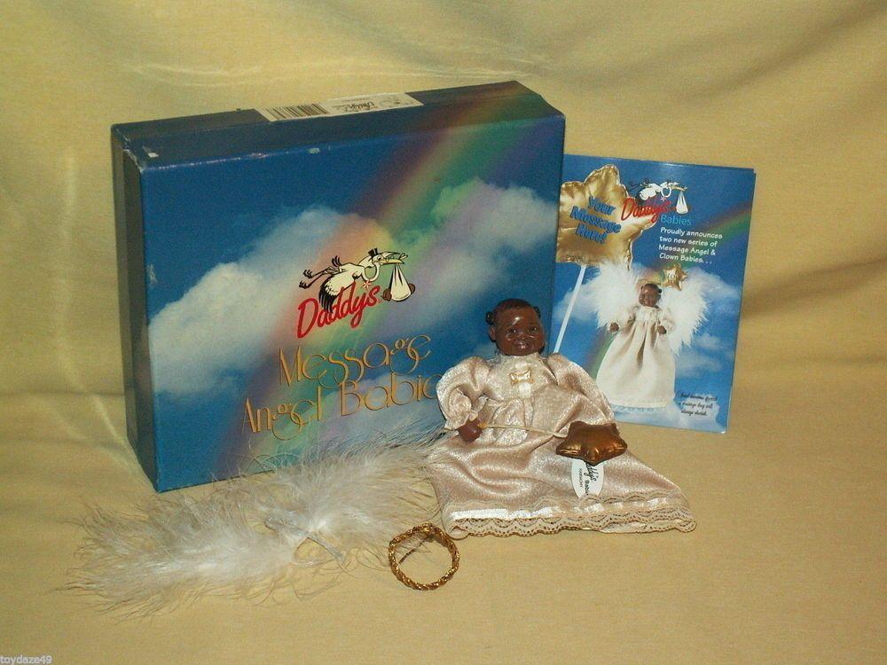 Angel Baby Doll Harmony Daddys Message 2001 Ser 2 Karen Germany Julie Allen Box Baby Angel Baby Dolls Angel Figurines