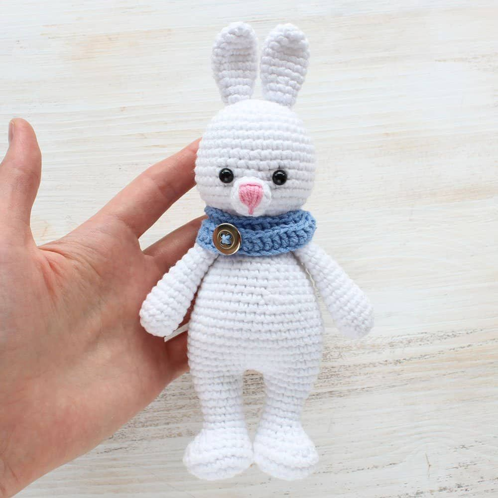 Crochet Cuddle Me Bunny - Free amigurumi pattern | Crochet Patterns ...