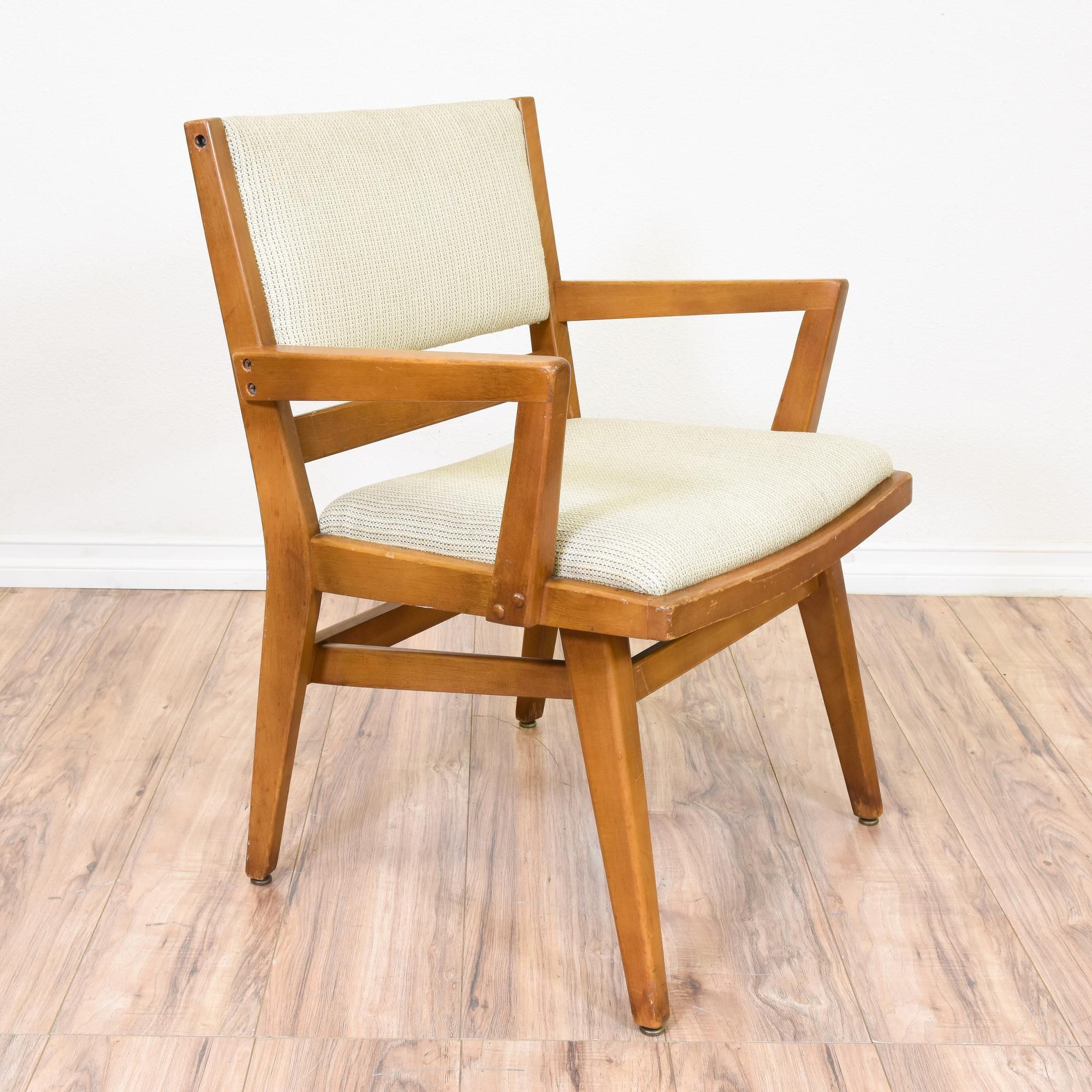 This Mid Century Modern Accent Chair Is Featured In A