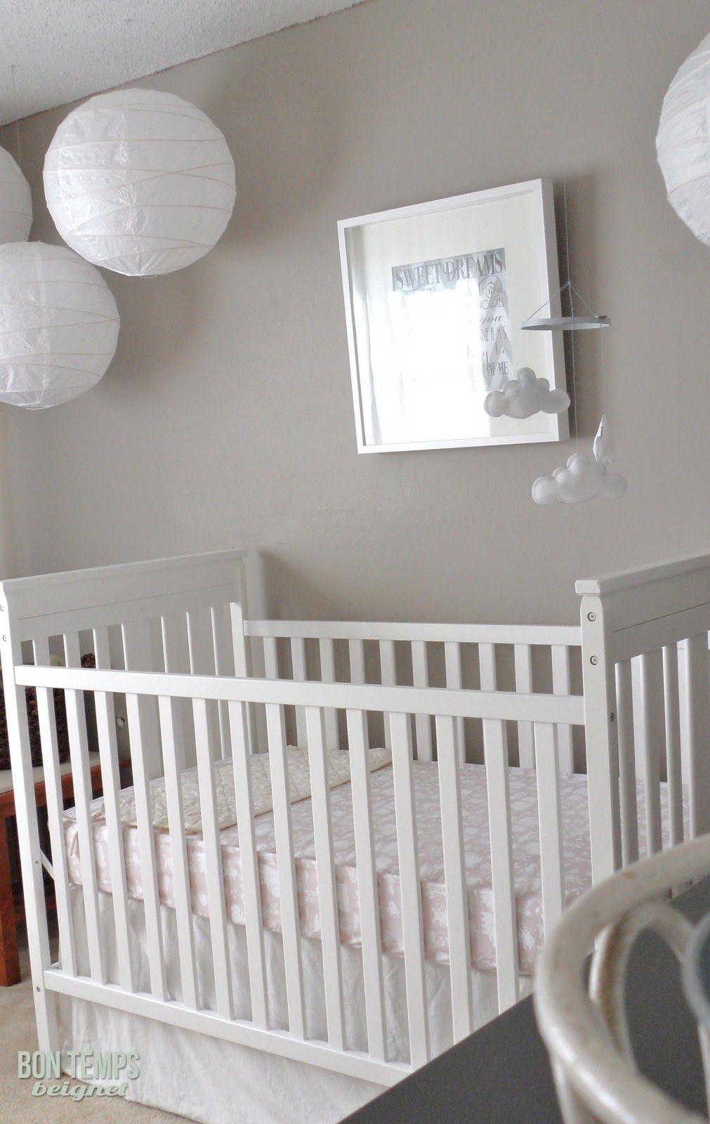 Grey Walls Actually A Taupe Bon Temps Beignet Nursery Source List