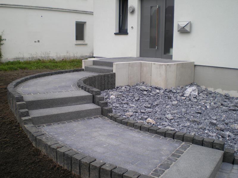 michael holzweiler garten und landschaftsbau gmbh hauseingang pflastern hauseingang. Black Bedroom Furniture Sets. Home Design Ideas