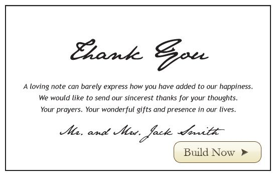 Email wedding invitations online personalized cards and invites email wedding invitations online personalized cards and invites double layer thank you with mixed fonts custom stopboris Gallery