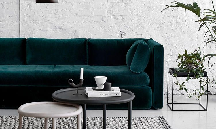 Hackney Soffa Idee Deco Deco Maison Decoration Interieure