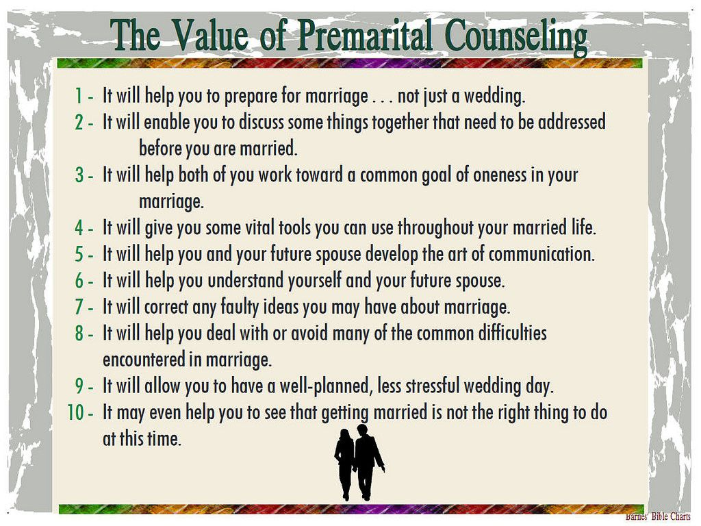 The Value Of Premarital Counseling