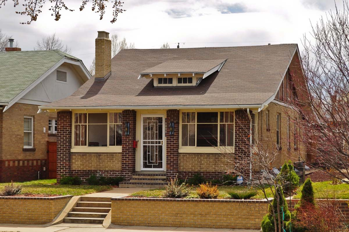 Denver S Single Family Homes By Decade 1920s Porch Roof Design Small Front Porches Designs Porch Addition