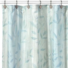 combed vines shower curtain by wamsutta